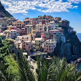 Cinque Terre by Mike Hotovy - City,  Street & Park  Vistas