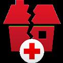Earthquake -American Red Cross icon