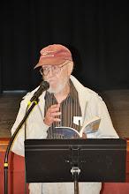Photo: RASP board member Bill Hayes read next.