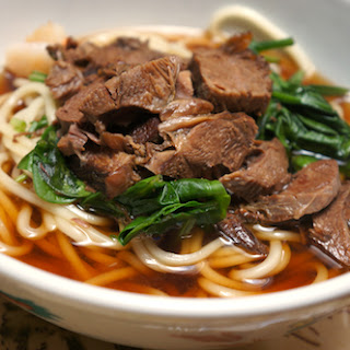 Chinese Braised Beef Noodle Soup Recipe