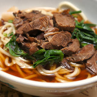 Chinese Braised Beef Noodle Soup.