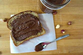 Photo: Homemade Nutella - A sweet and creamy hazelnut chocolate spread  http://www.peanutbutterandpeppers.com/2012/12/27/homemade-nutella/  #nutella   #nuts   #hazelnut   #chocolate   #spread   #condiment