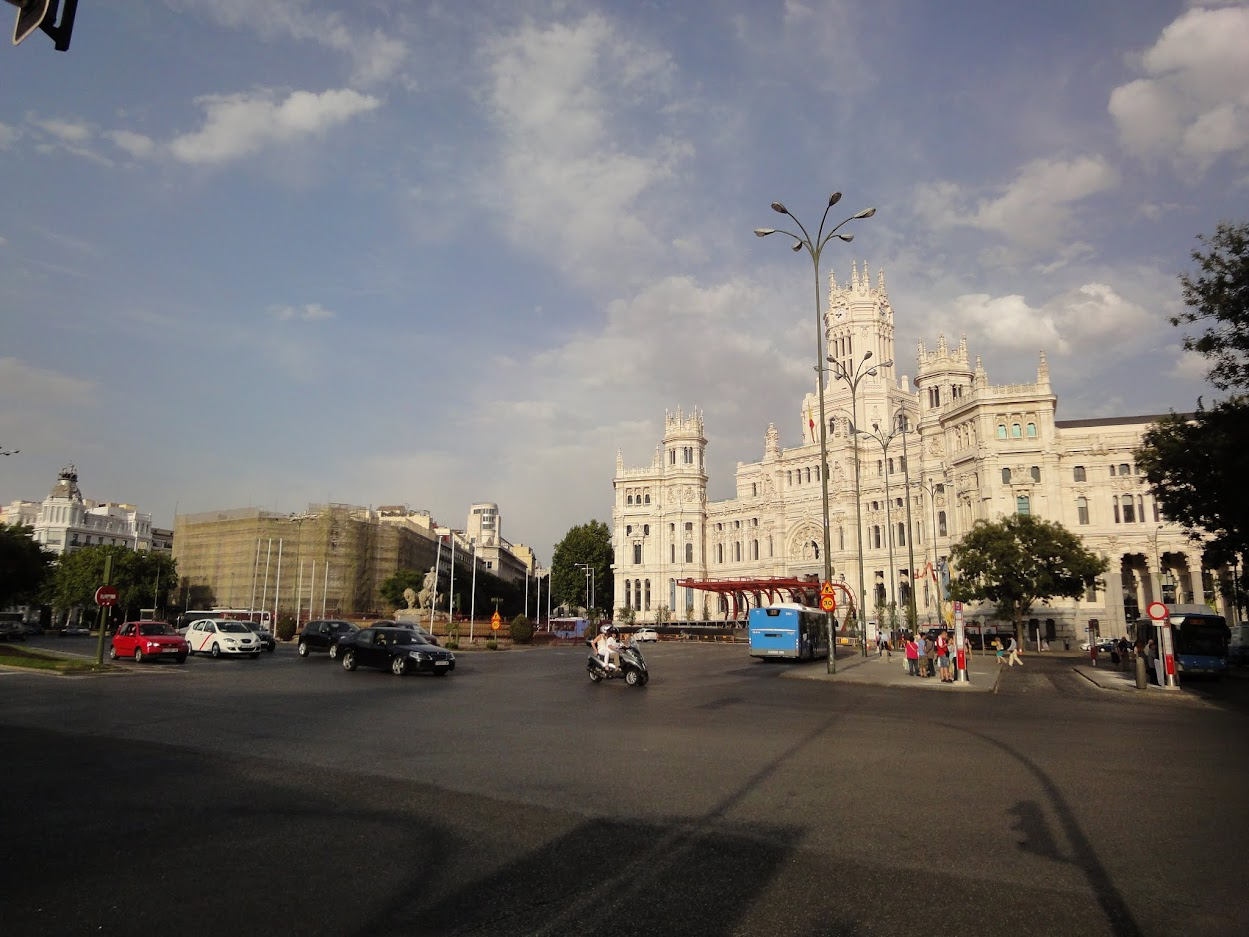 Plaza Cibeles à Madrid