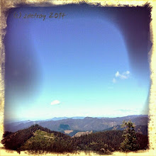 Photo: Grateful for a view of the mountains.