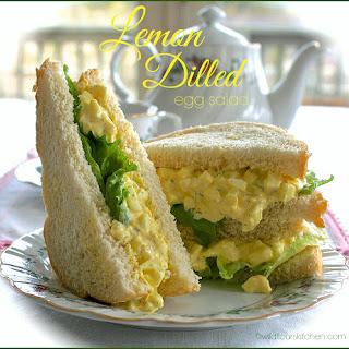 Light & Refreshing Lemon-Dilled Egg Salad