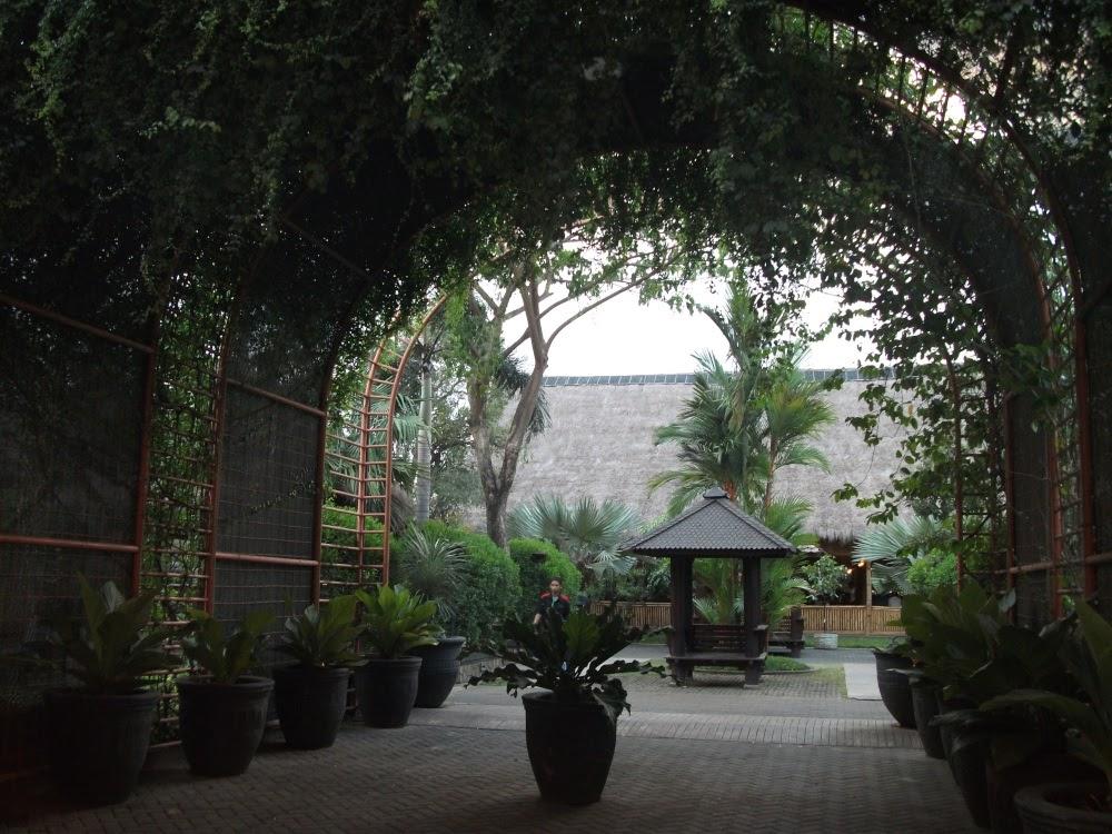 View of villages in Hallo Surabaya