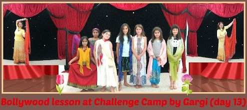 Photo: Bollywood lesson at Challenge Camp by Gargi (day 13)