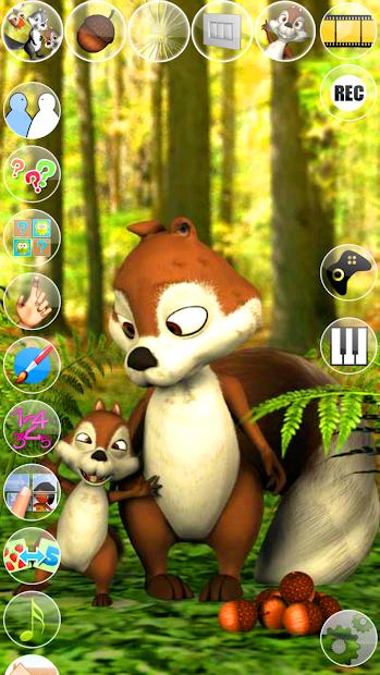 Talking James Squirrel screenshot 6