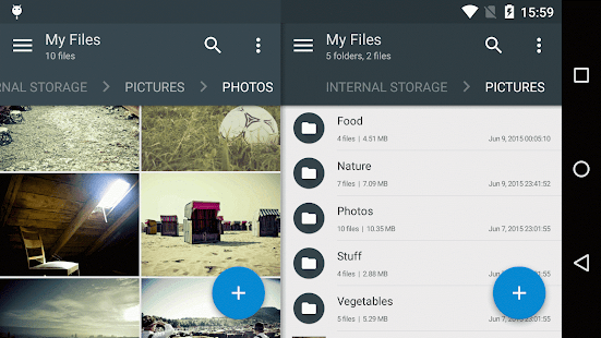 Solid Explorer File Manager – Miniaturansicht des Screenshots