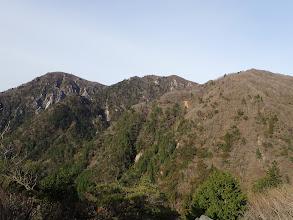 ハライドから国見岳方面