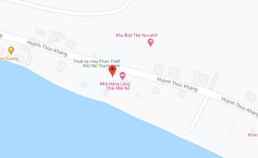 Địa điểm đón/trả khách tại Mũi Né