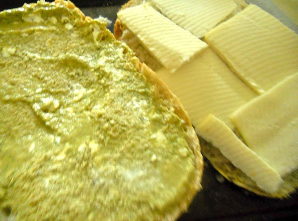Cheese: Cut the cheese into 4 slices. Heat a non stick pan, arrange the...