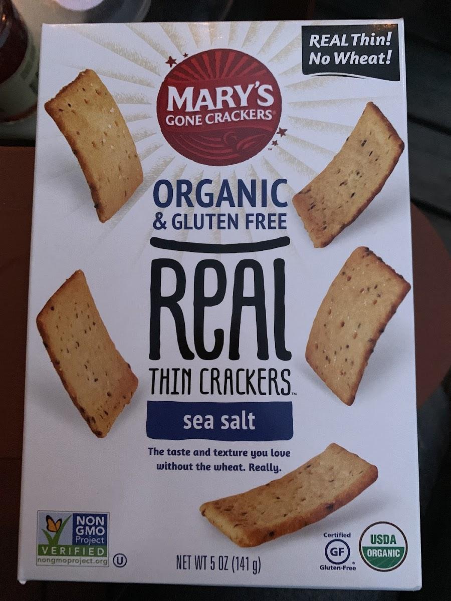 REAL Thin Crackers-Sea Salt