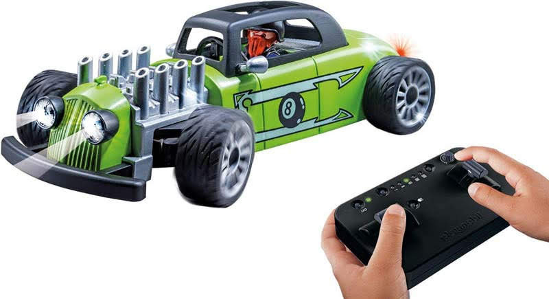 Contenido real de Playmobil® 9091 Racer Rock and Roll RC