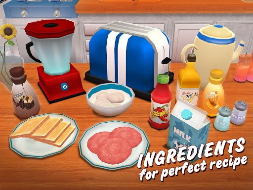Virtual Chef Breakfast Maker 3D: Food Cooking Game 1.1 screenshots 9