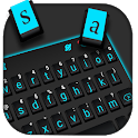 Black Simple Keyboard Theme icon