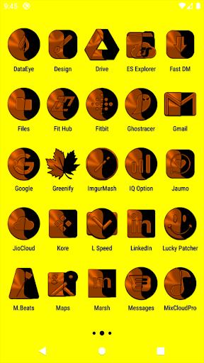 Wicked Orange Icon Pack u2728Freeu2728 screenshots 3
