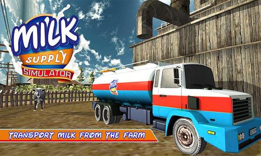 卡車駕駛 - 牛奶貨物