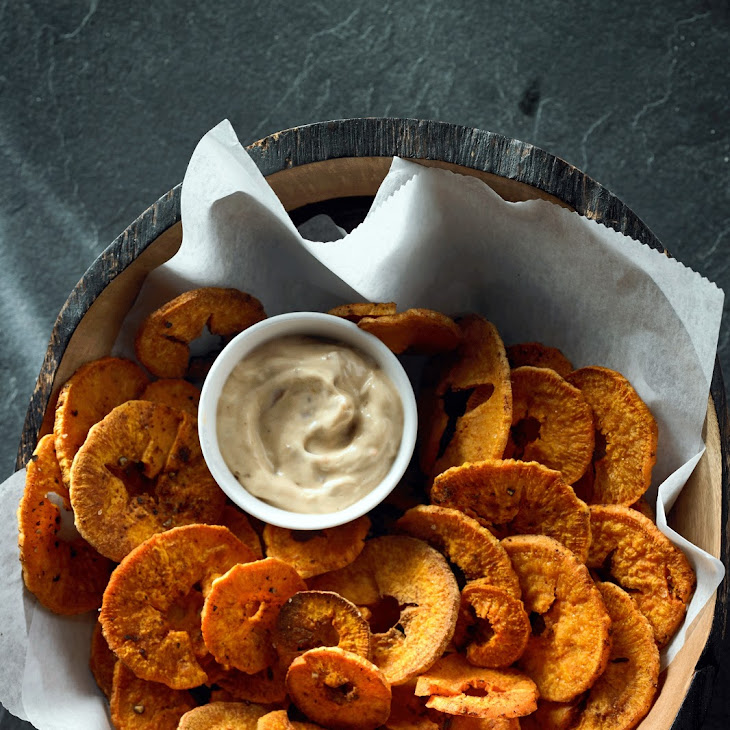 Baked Herbed Spiral Fries