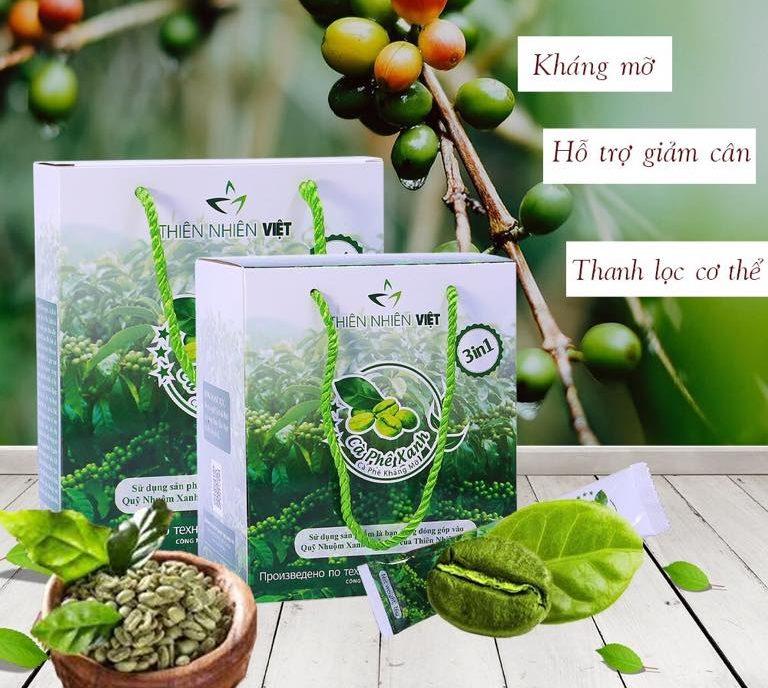 Tất tần tật thông tin về cà phê xanh giảm cân thiên nhiên việt