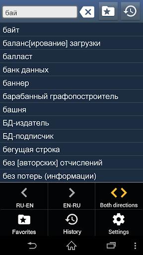 Компьютерный словарь EN-RU