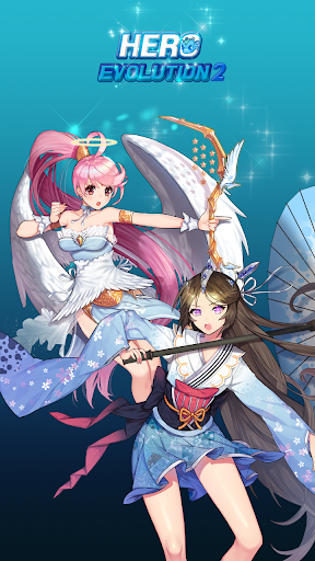 Hero Evolution 2 : Ninja Girls  captures d'écran 1