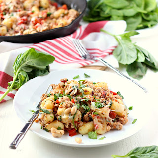Gnocchi with Turkey and White Beans
