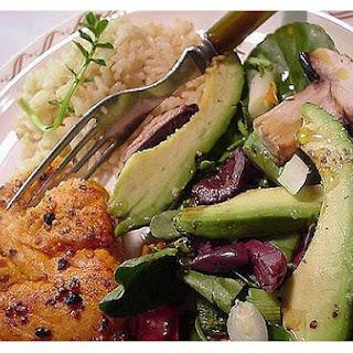 Garlic Cabbage Salad.