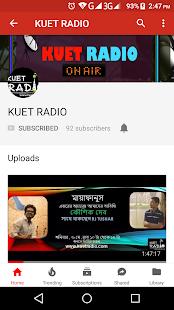 KUET Radio - náhled