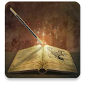 Short fiction fantasy stories icon