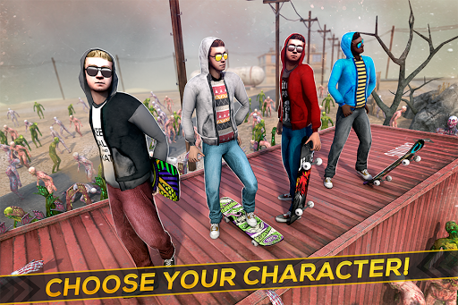 Skateboard Pro Zombie Run 3D 2.11.2 screenshots 3