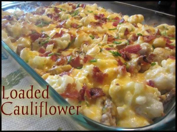 Loaded Cauliflower Recipe