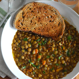 Puy Lentil Soup Recipe