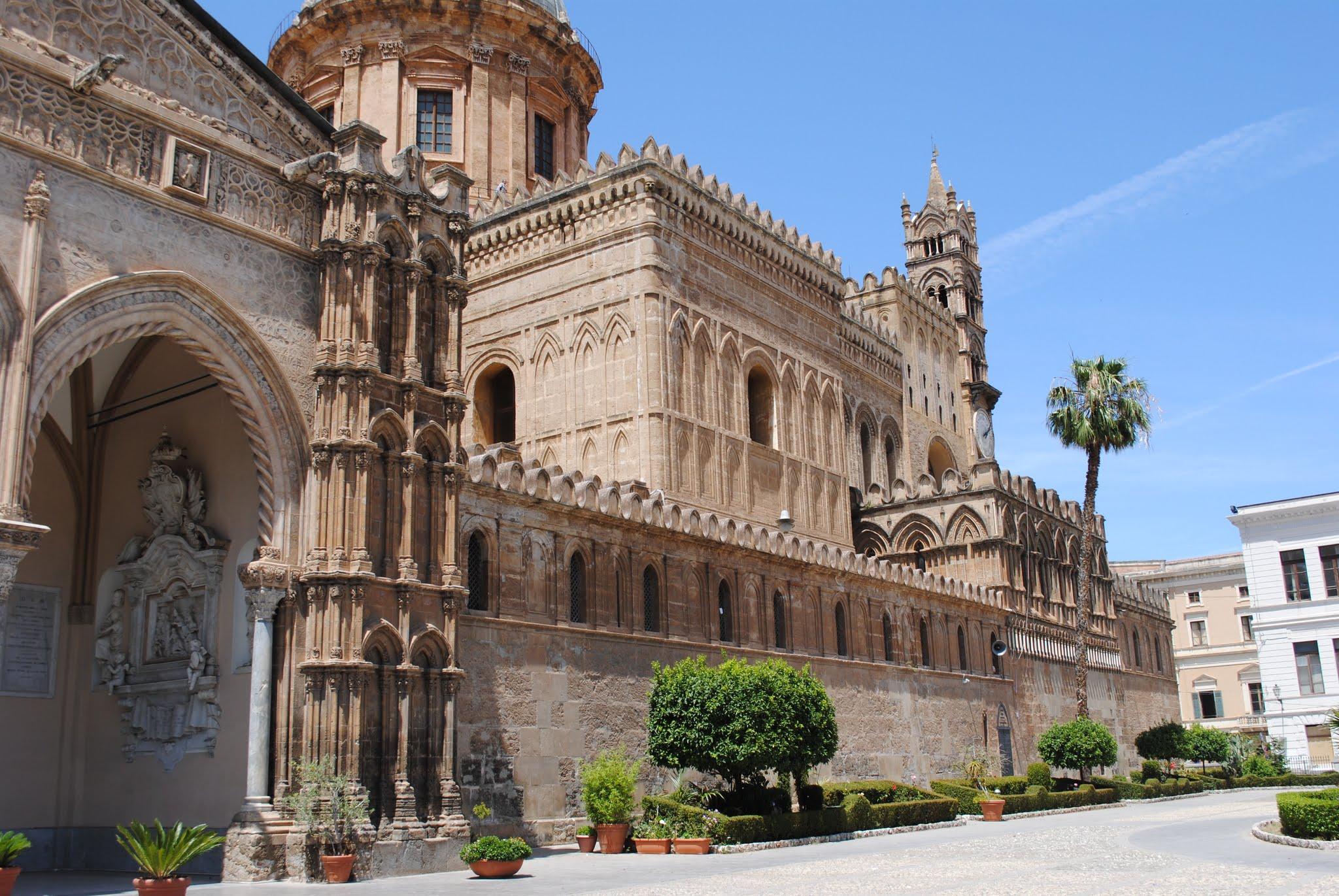 My Photos: Italy -- Sicily -- Palermo -- Churches -- Cattedrale Metropolitana della Santa Vergine Maria Assunta