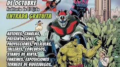 Cartel FestiComic 2018 en el Auditorio de El Ejido.