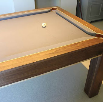 The White ball on the Refined Pool Table
