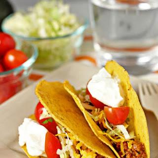 Healthy Turkey Tacos.