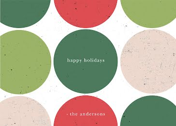 Greetings from the Andersons - Christmas Card template