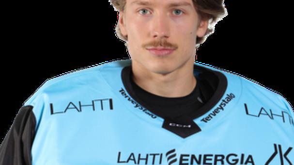 #33 Emil LarmiS. 28.09.2996, LahtiPituus: 186 cmPaino: 83 kgKätisyys: Left