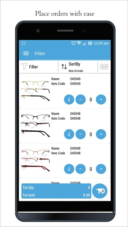 Salvador Eyewear- screenshot