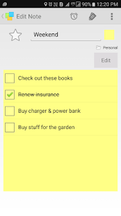 Notezilla - Notes & Reminders Screenshot