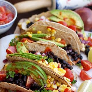 5-minute Easy Vegan Tacos.