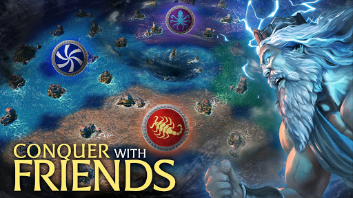Olympus Rising: Tower Defense and Greek Gods apkpoly screenshots 3