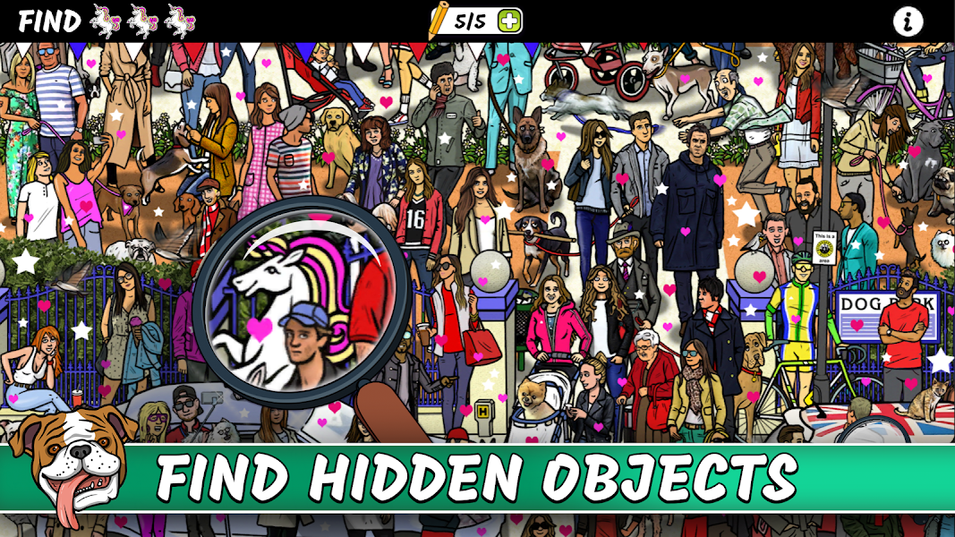 Search & Find - Hidden Objects