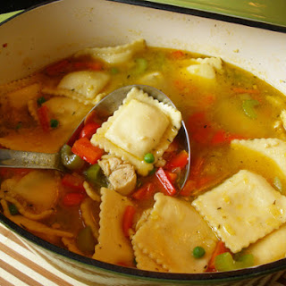 Chicken Ravioli Soup Recipes
