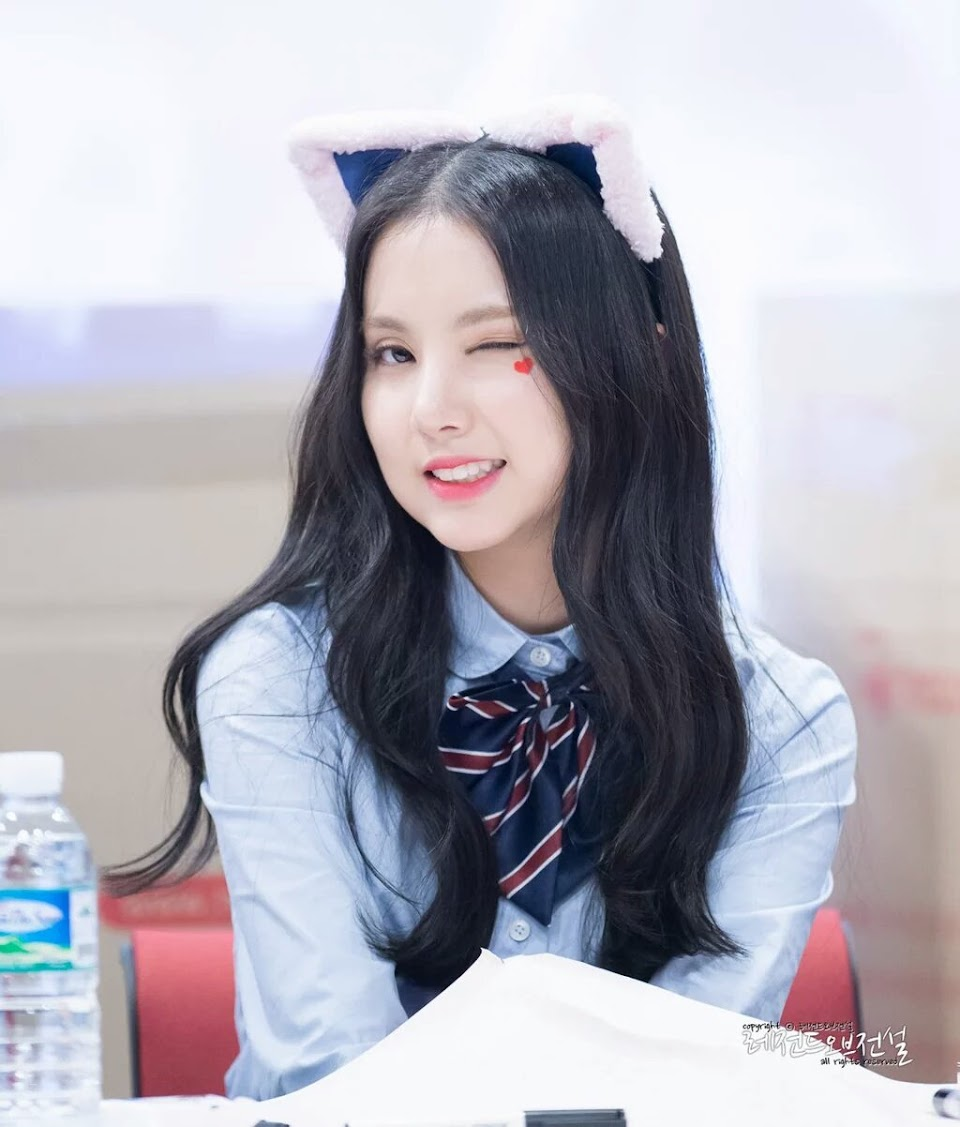 eunha long hair
