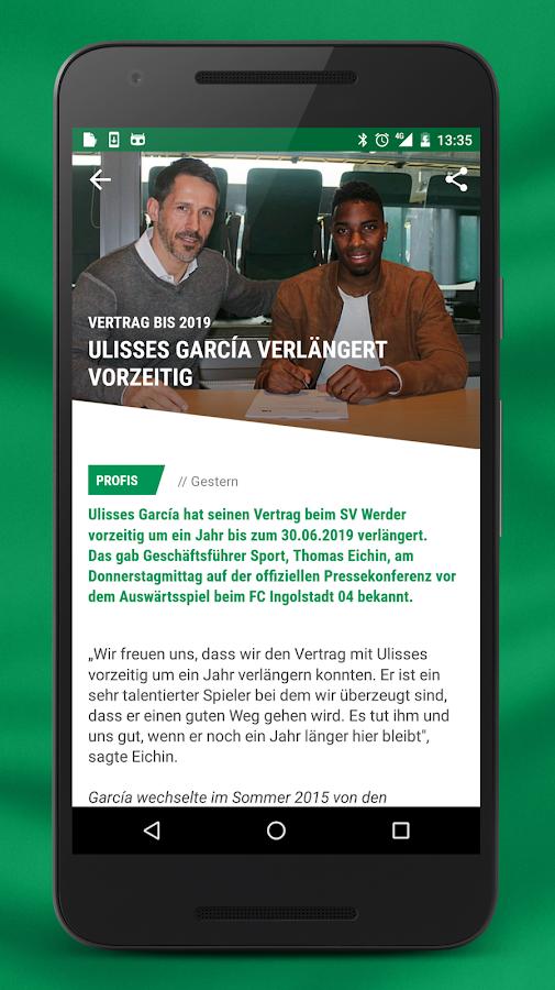 werder app