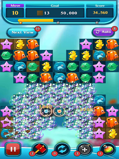 Ocean Match Puzzle apktram screenshots 3