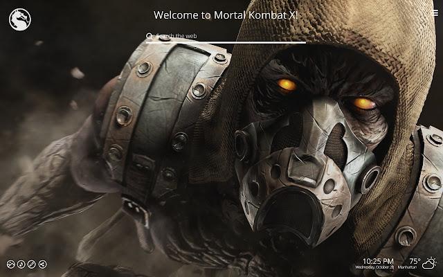 Mortal Kombat Wallpaper Tab Theme