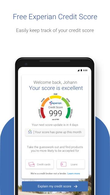 Experian – Credit Score- screenshot